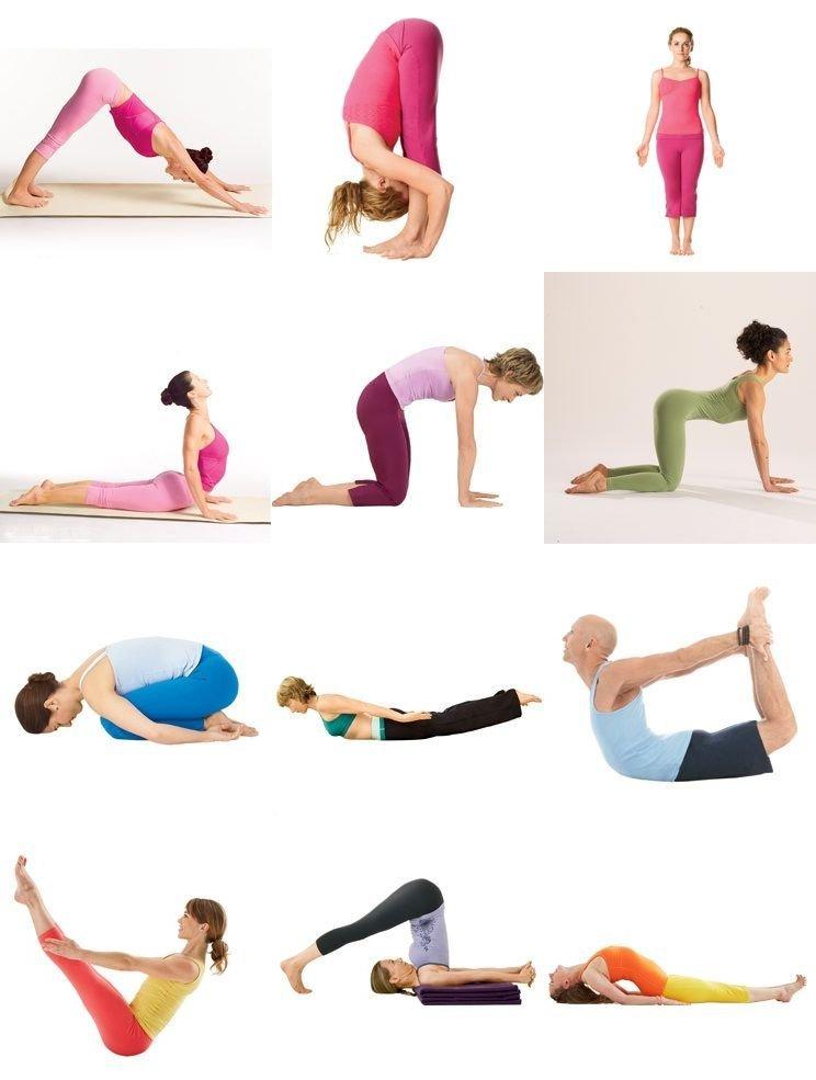 Йога при остеохондрозе шейном и поясничном отделе